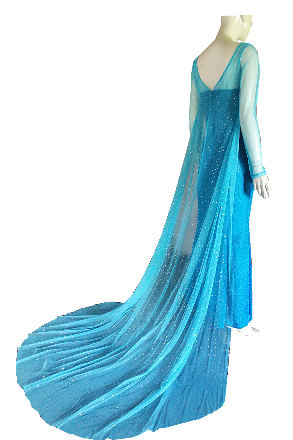 Anna Elsa Women Dress Princess Party Gift Cosplay Wig Snow Queen Adult