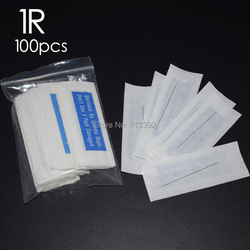 1R-Makeup Eyebrow Needles Sterilized 100pcs  Permanent Makeup Needles Tattoo Needle Free Sh ipping