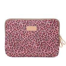 Leopard Laptop Bags for women 10 12 13 14 Computer Bag portable Handbags Sleeve Notebook Case Cover for Ipad Tablet Laptoptas
