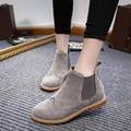 Botas de mujer 2016 Zapatos de Las Mujeres Botas de Invierno Las Mujeres Botines de Invierno Zapatos de Marca Zapatos de Mujer Botas de Nieve Negro