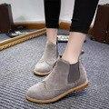 Mulheres Botas 2016 Mulheres Botas Sapatos de Inverno Mulheres Tornozelo Botas de Marca De Sapatos de Inverno Sapatos de Neve Botas Mujer Preto