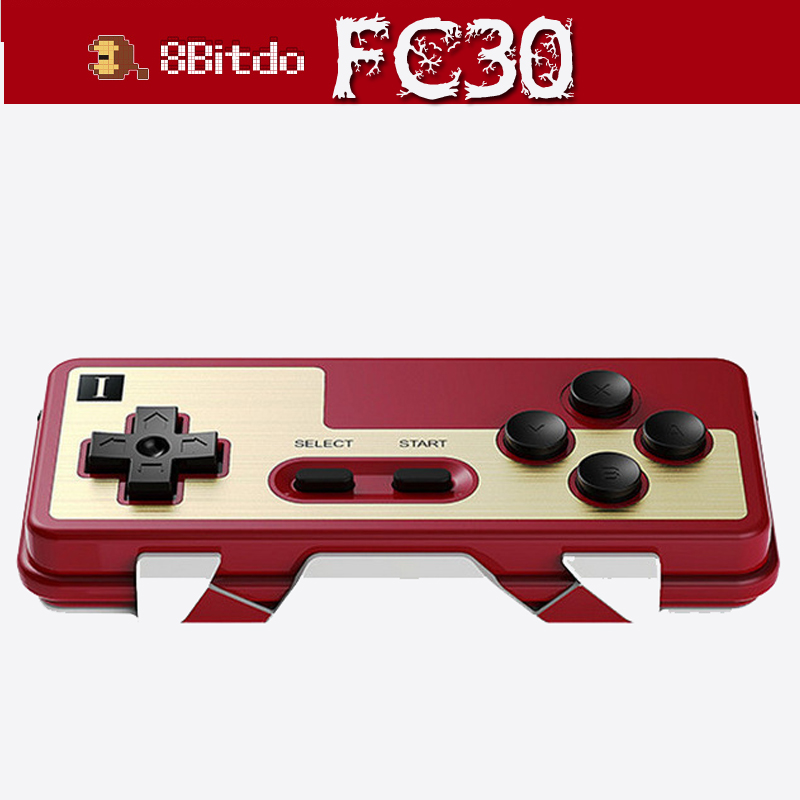 2 Set 8bitdo FC30 Dual Wireless Classic Bluetooth Gamepad Controller Gamepad Joystick for Android iOS PC Linux Mac New terios s3 wireless bluetooth gamepad bluetooth joystick gaming controller black for android smartphone tablet pc holder included