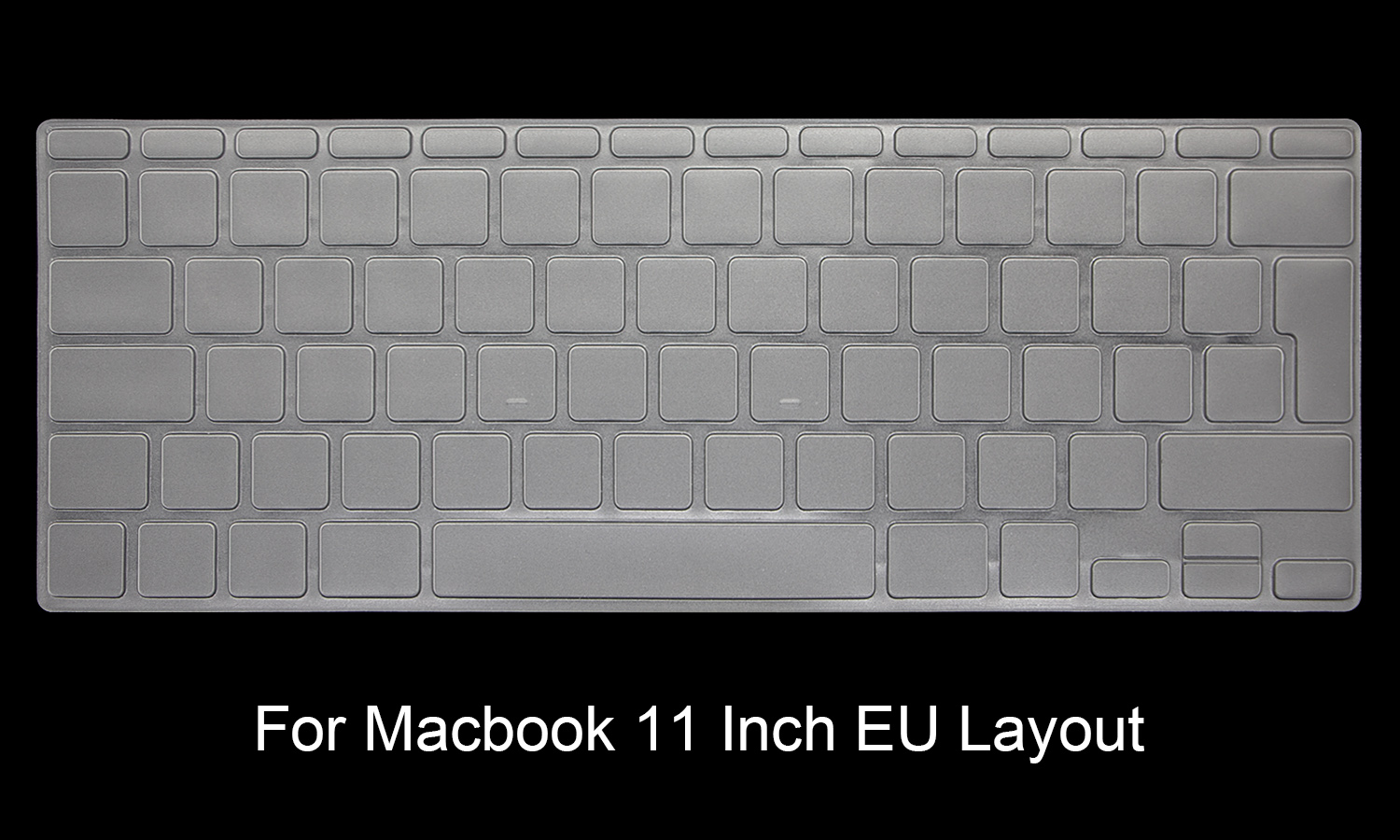 HRH TPU US EU Keyboard Cover Skin Protector For Macbook Air 11 13 Retina Pro 12