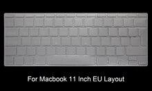HRH TPU US EU Keyboard Cover Skin Protector For Macbook Air 11 13 Retina Pro 12″ 13″ 15″ 17″ for New Mac iMac and Magic keyboard