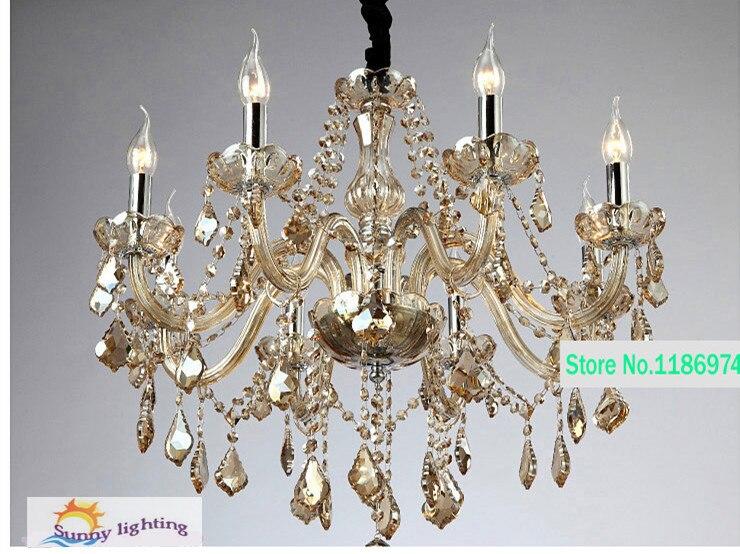 Moderne Kronleuchter Bilder ~ Led lampen moderne kristall kronleuchter cognac rabatt