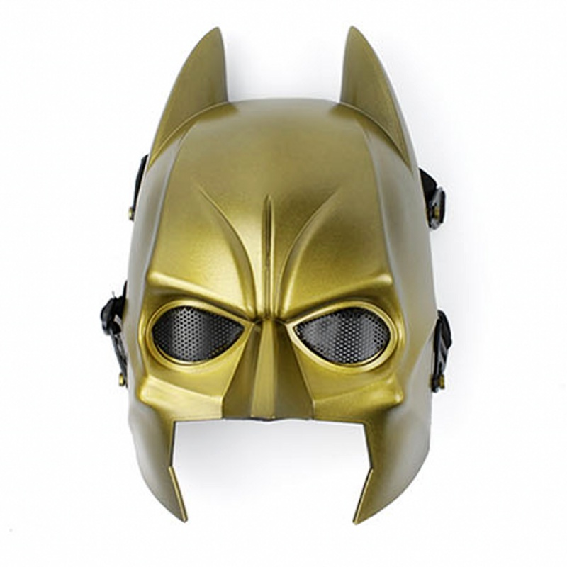 DC09 Military Tactical Batman Skull Ghost Full Face Airsoft Mask Army Paintball Wargame Cosplay Halloween Party Protector