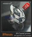 Гирлянда чакра спектры 1 прозрачное стекло люстры кристаллическая лечебная лампа призмы части подвесных подвесок 3 5