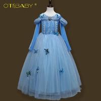 Fairy Girls Sophia Princess Party Fancy Dress Halloween Cosplay Costume For Girls Cinderella Dress Elsa Tutu