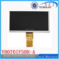Original 7'' inch YH070IF50H-A LCD Display Matrix TABLET YH070IF50H-A 163*97mm TFT LCD Display Screen Panel Free shipping