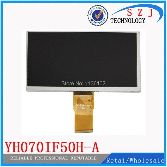 Original 7 ''pulgadas TABLET YH070IF50H-A YH070IF50H-A Pantalla LCD de Matriz de 163*97mm Pantalla TFT LCD Panel de la Pantalla Libre gratis
