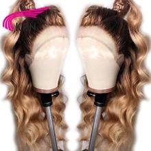 KRN #4/27 Ombre Brazilian 13x3 Lace Front Human Hair