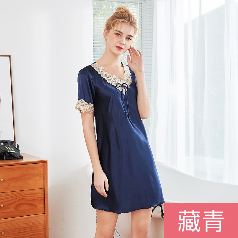 Summer Women's Robe Bath Gown Bathrobe Sleepwear Ladies Rayon Yukata   Nightgown     Sleepshirts   Home Night Dress Pijama Mujer M-XL