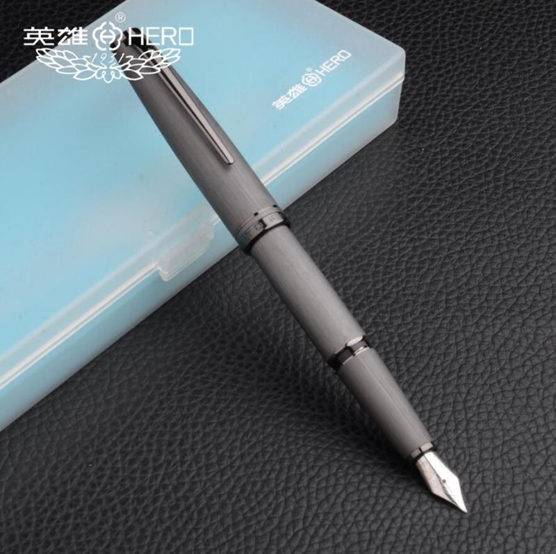 Free Shipping Classic Design Hero 981 Luxury Business Metal Fountain Pen Best Quality Smooth Writing Pen Card PackingFree Shipping Classic Design Hero 981 Luxury Business Metal Fountain Pen Best Quality Smooth Writing Pen Card Packing
