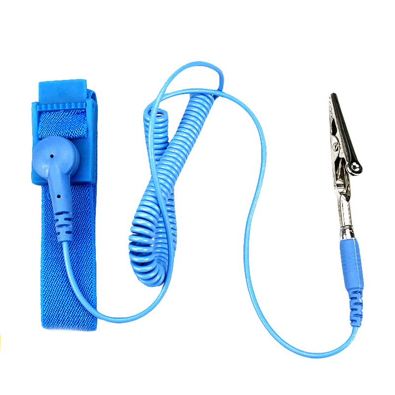 Hand & Power Tool Accessories Power Tool Accessories Professional Sale Power Tool Accessories Anti Static Esd Strap Wrist Strap For Working On Electric Devices With Grounding Wire And Alligator Clip Selected Material