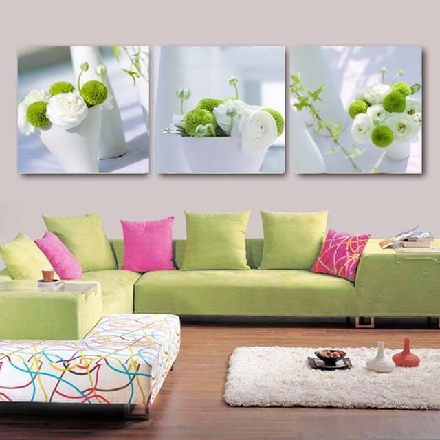 recin llegado de flor moderna cuadros decoracion pintura de numbers large pared cuadros para la