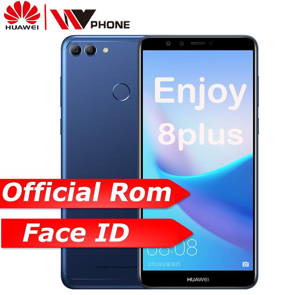 Huawe Y9 2018 huawe наслаждаться 8 плюс Global ROM 4G 6 4G Octa core 5,93 дюймов 2160*1080 P 4000 мАч спереди 8.0MP двойной спереди и сзади Камера