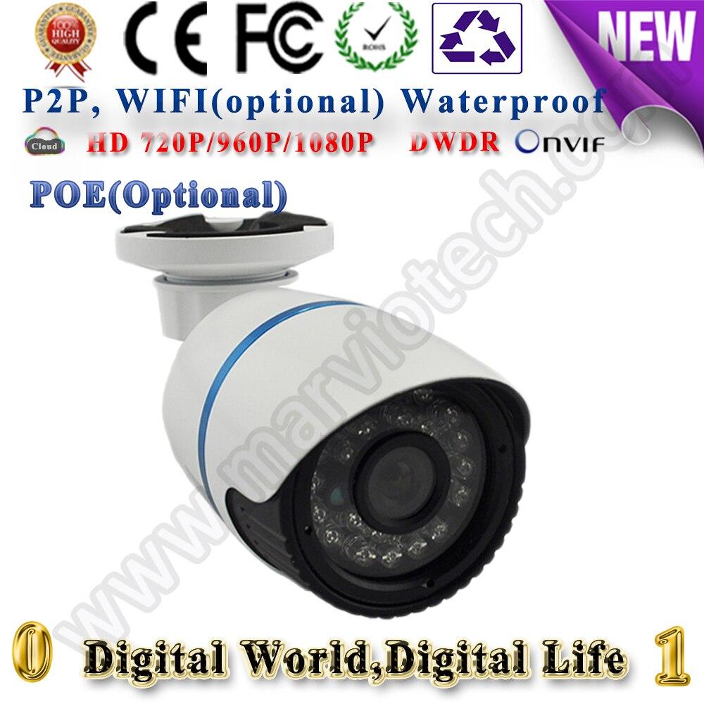 720P 960P 1080P security ip camera poe wi fi Webcam mini bullet CCTV Camera onvif Wireless