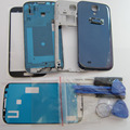 Replacement Phone Parts New For Samsung Galaxy S IV S4 GT-i9500 Full Housing Case Cover & Front Outer Glass & OCA Glue & Tools