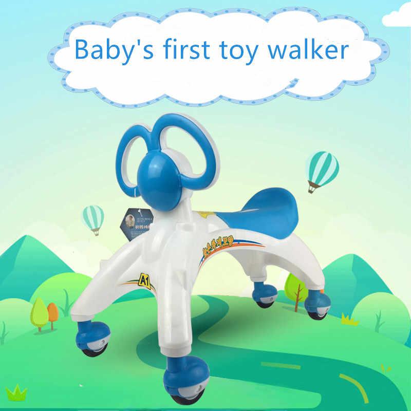 Juguetes Para Andador de bebé, carrito multifuncional para niños de cuatro ruedas, Scooter para niños, andador de bebé, juguetes para niños pequeños para aprender a caminar de 1 a 5 años