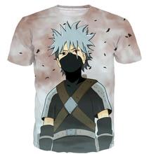 Anime Naruto Short Sleeve T-shirt