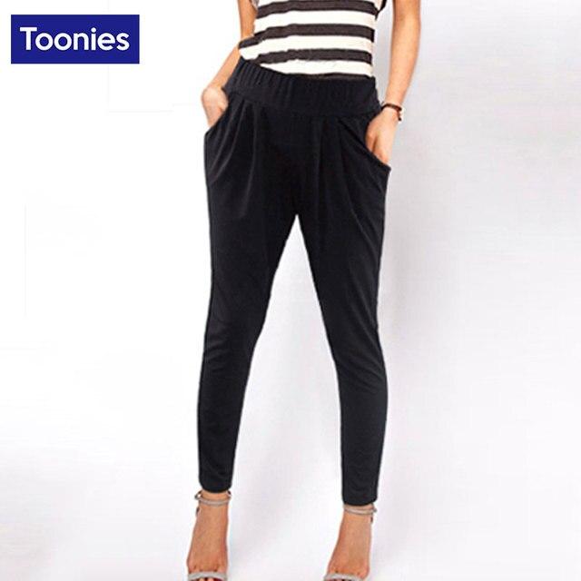 2017 брюки Завышение Плюс Размеры 6XL женские брюки стрейч штаны с эластичной резинкой на талии новые женские длинные узкие брюки три Цвет леггинсы