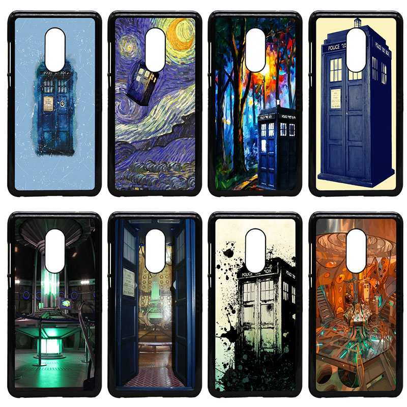 Doctor Who Tardis Police Box Cell Phone Case Hard PC Cover for Xiaomi Redmi 3X Mi 6 5 5S Plus Note 4X 2 3 3S 4 Pro Prime Shell