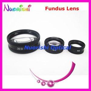 Image 4 - ¡78DM tan bueno como la lente Volk! Funda de plástico duro para lente de cristal de contacto, lámpara de hendidura para Fundus oftálmico, envío gratis