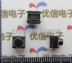 6*6*6MM Key Switch Micro Switch Light-Touch Switch Horizontal Type  (20pcs)