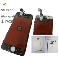1PCS 5G 5S Quality A Display LCD And Touch Screen Digitizer Assembly For Iphone 5G 5S