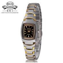 Banda de Tungsteno de Cuarzo Reloj de Las Mujeres de Moda de lujo Reloj de Señora Del Diamante Vestido Reloj Casual Reloj Relogio Feminino Con Caja de Regalo