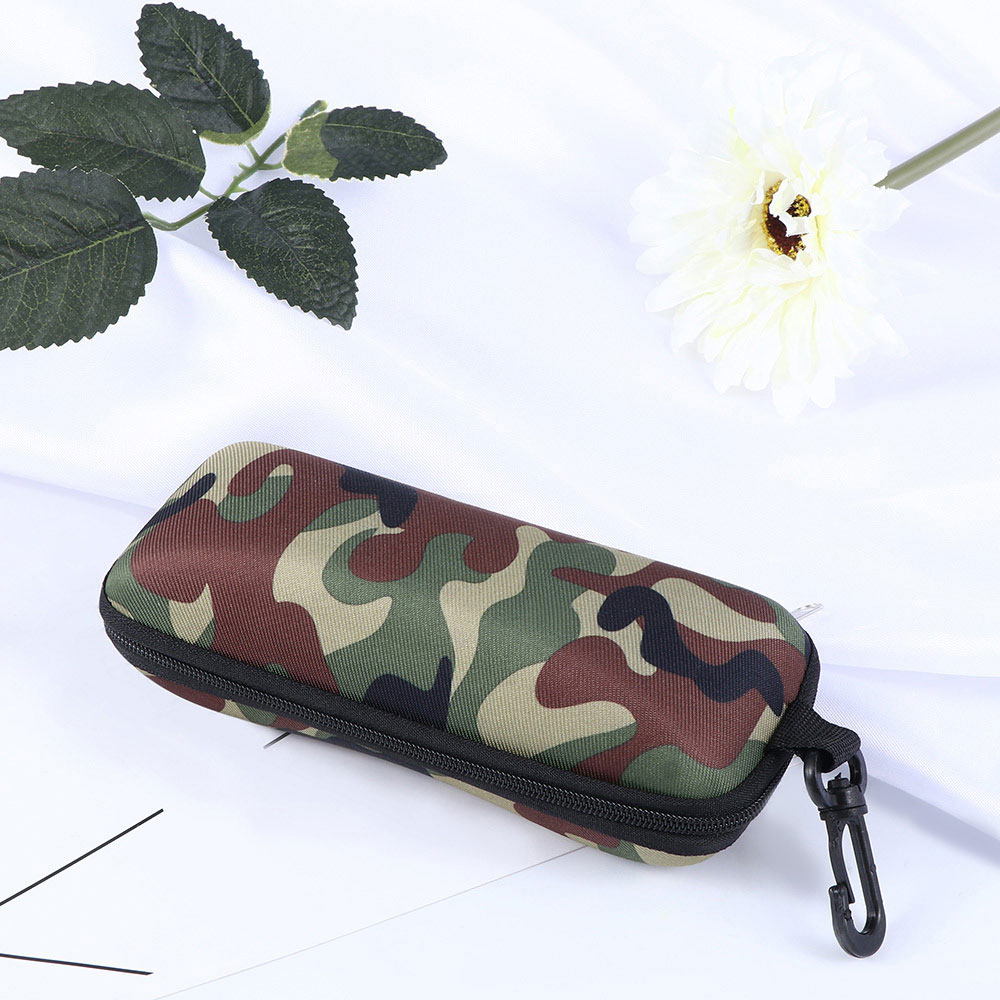 Camouflage Glasses Box Shockproof Anti-pressure Glasses Cases Unisex Sunglasses Case Outdoor Camouflage Storage Protector