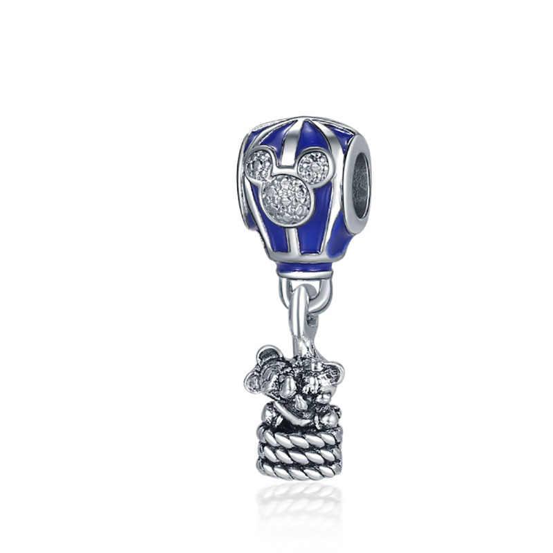 Ajuste Pandora dijes Plata 925 Plata De Ley Original 2019 pulsera De cuentas para hacer joyas De moda Bijoux pendiente