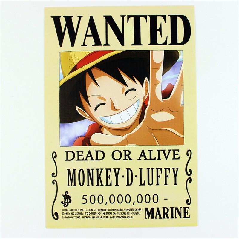 Luffy Bounty 500,000,000