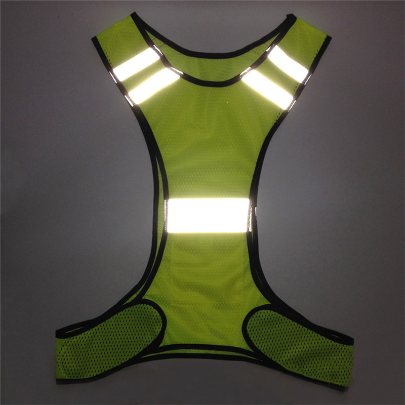 In Quality 2019 Latest Design Reflective Safety Vest Cycling Bike Bicycle Vest Sleeveless Night Running Security Riding Outdoor Protection Excellent