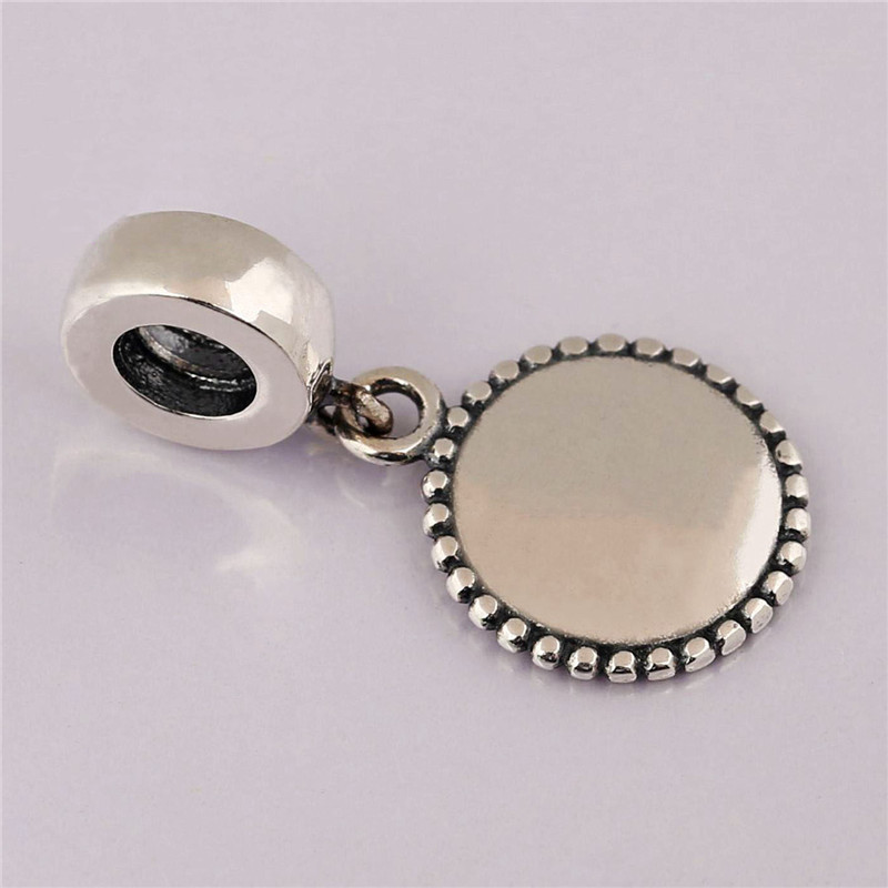925 Sterling Silver Pendant Bead We Rise By Lifting Others Hanging Charm Fit Original Pandora Bracelet Bangles Women DIY Jewelry