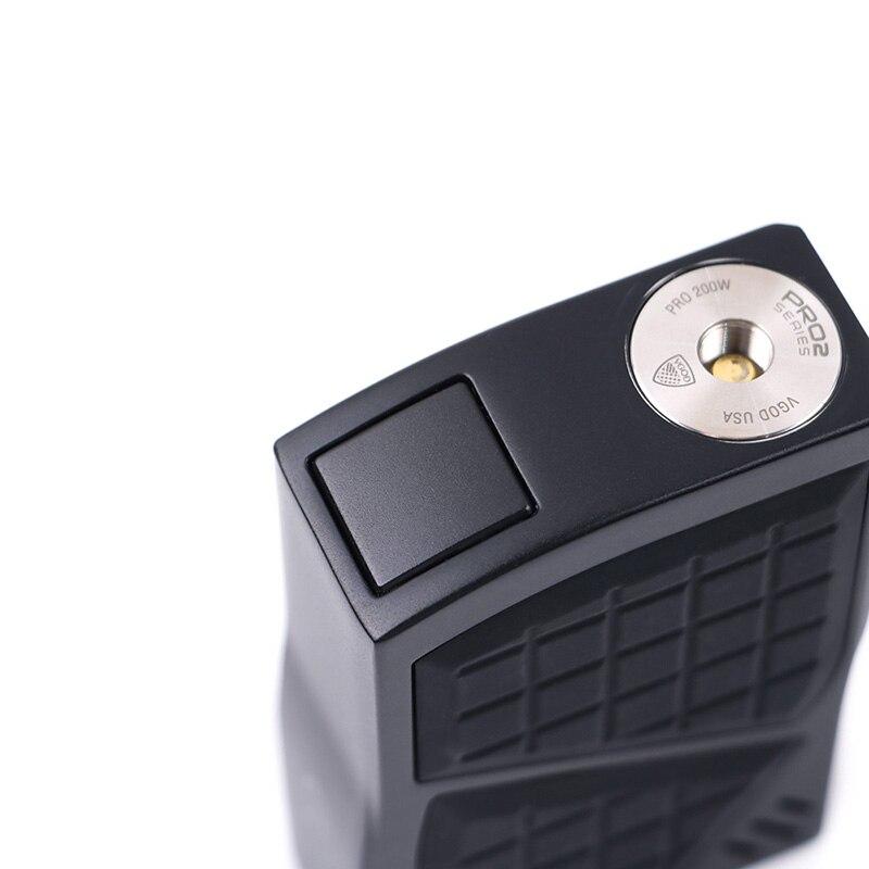 D'origine VGOD Pro 200 Boîte kit Mod TC Vaporisateur Mod 200 w 4 ml VGOD Sous ohm réservoir Atomiseur Cigarettes Électroniques 0.2ohm Bobine Vaporisateur - 5
