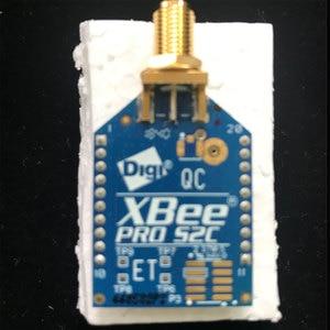 Image 1 - 1 pcs x XBP24CZ7SIT 004 Modulo Zigbee (802.15.4) XBee PRO ZB S2C TH RPSMA Antenna