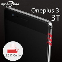 oneplus 3 tempered glass original oneplus 3T screen protector oneplus 3t glass full cover white blac