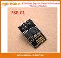 Fast Ship Livre 100 pçs/lote versão Atualizada ESP-01 ESP8266 WiFi Módulo serial sem fio módulo transceptor sem fio