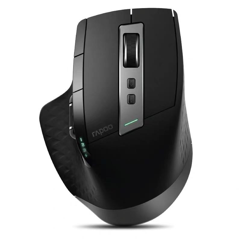 Новейшая перезаряжаемая многомодовая Беспроводная мышь Rapoo 3200 dpi переключение между Bluetooth 4,0/2,4 и 3,0G для четырех устройств подключения