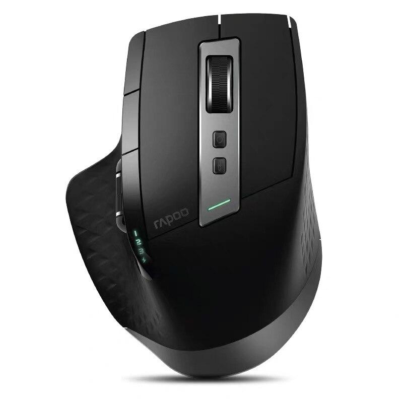 Mais recente rapoo recarregável multi-modo sem fio mouse 3200 dpi interruptor entre bluetooth 3.0/4.0 e 2.4g para quatro dispositivo conectar