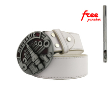 Buckles Hot Sale Mechanic Belt Buckle Head Brand New Western Metal With Good Plating Suitable For 4cm Width