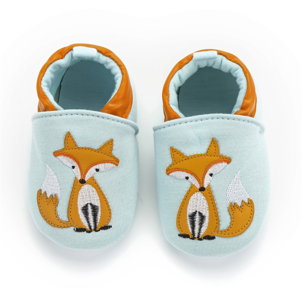 Suaves Zapatos De Cuero Del Beb/é Panda 6-12 meses