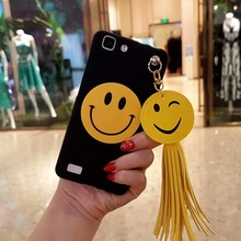 Luxury Cute Cartoon Smile Face Tassel Case For Meizu Meilan 3S 5 5S E E2 X Max Note3 Note5 Soft Silicone Phone Cases Cover Coque(China)