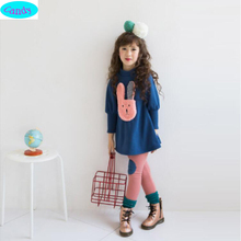 2016 Girl's Autumn Winter clothing sets baby Girl's kids Spring Autumn sweatshirts+pants 2PCS/suit sets girls TZ4