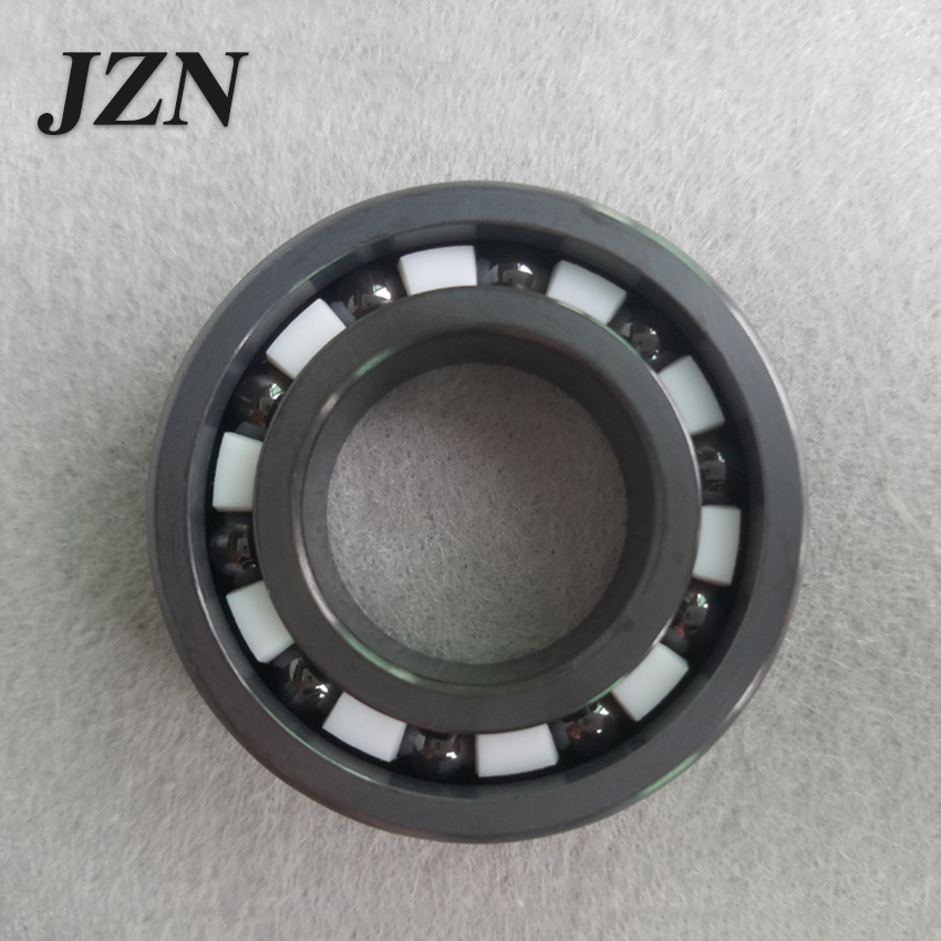 Free shipping 606 608 6000 6001 6002 6003 6004 6005 6006 Si3N4 silicon nitride with cage / full ball full ceramic bearingFree shipping 606 608 6000 6001 6002 6003 6004 6005 6006 Si3N4 silicon nitride with cage / full ball full ceramic bearing