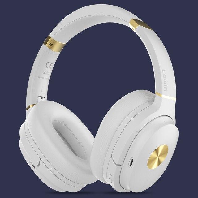 Cowin SE7 ANC activo ruido cancelación auriculares Bluetooth auriculares inalámbricos con micrófono apt-x para teléfonos-Nivel de 30dB