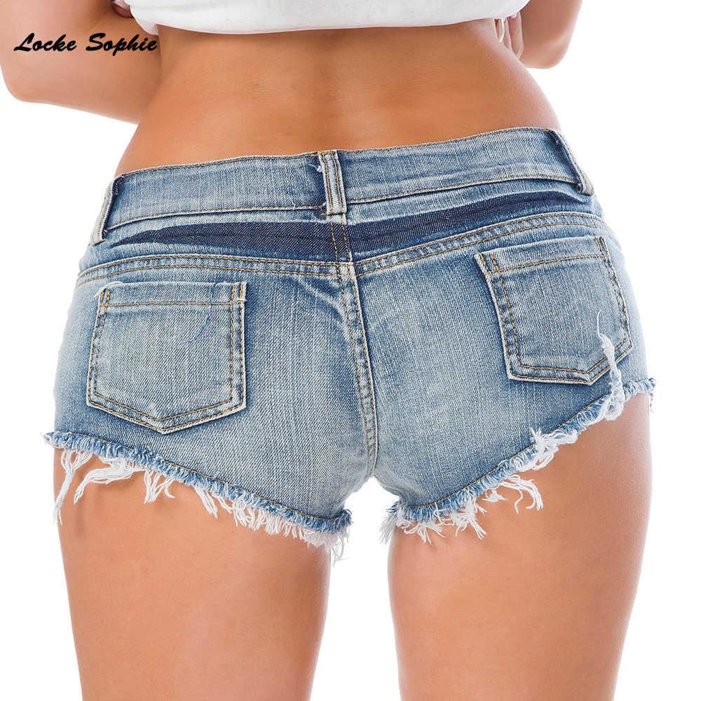 ローウエストショーツセクシーな女性のショートパンツの 2020 夏ファッションタッセルレディーススキニーデニム綿スーパーショートジーンズ女の子