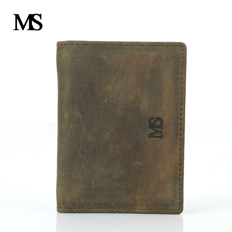 Brand High Quality Genuine Leather Card & ID Holders Cowhide Name Card Holder Credit Card Holder Vintage Oxhide Cowskin TWB026-1