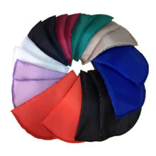 1 Pair High-Grade Sponge Shoulder Pads Colorful Padding for Women Blazer T-shirt Windbreaker Clothes Accessories about 16*10*1cm(China)
